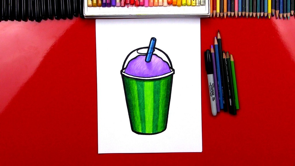 How To Draw A Slurpee 7-11