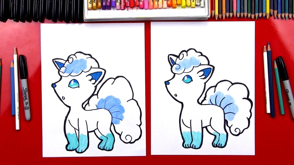 How To Draw Alola Vulpix
