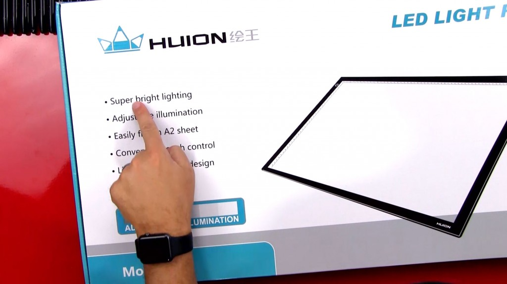 Unboxed Review – Huion A2 LED Light Pad