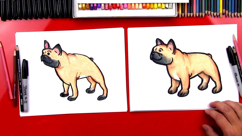How To Draw A Bulldog + Plus New Ebook!