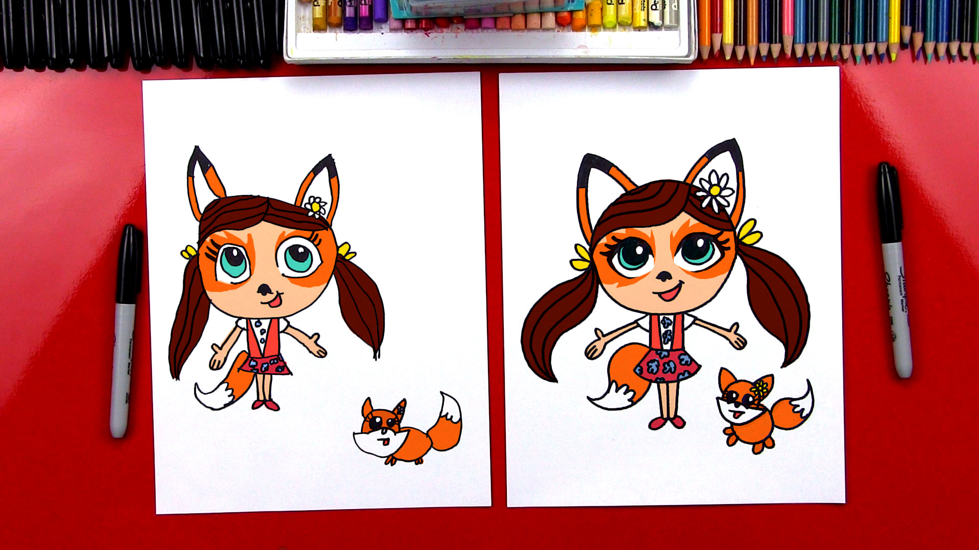 How To Draw Enchantimals Felicity