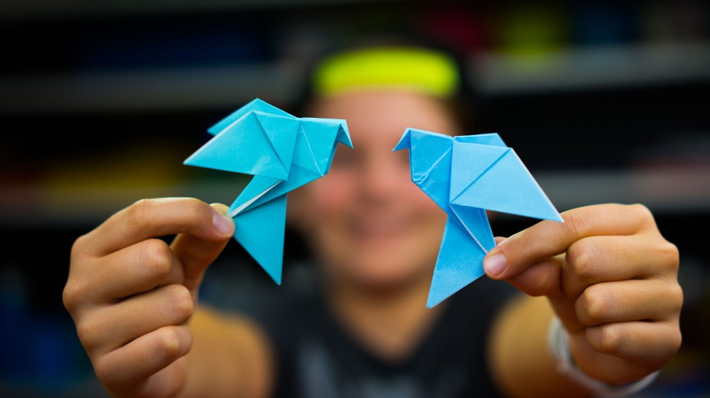 How To Fold An Origami Dove