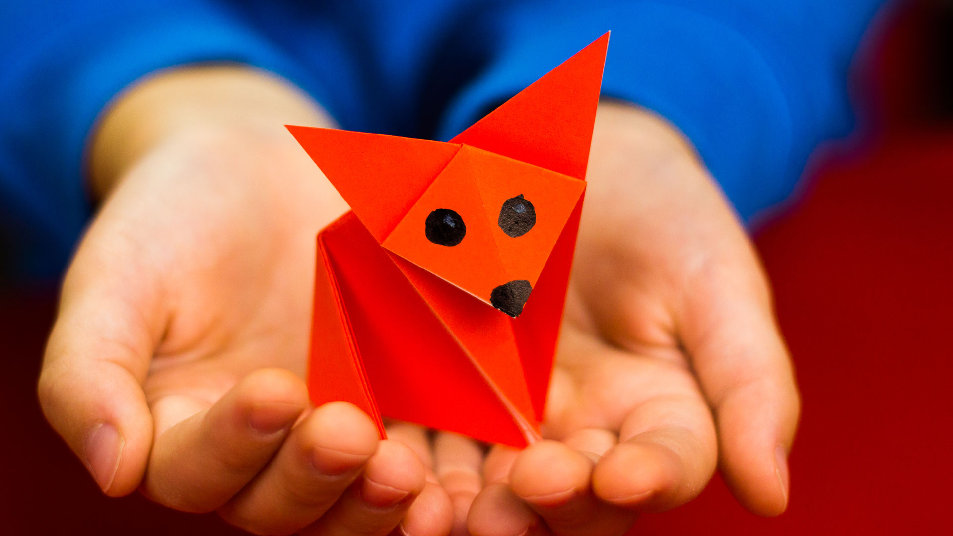 Origami for kids archives art for kids hub how to fold an easy origami fox jeuxipadfo Choice Image