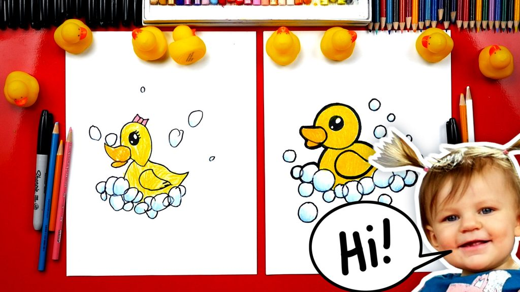 How To Draw A Rubber Ducky + Artist Spotlight