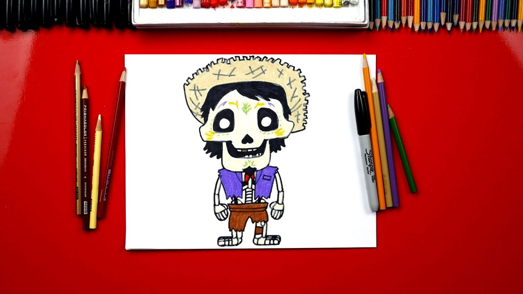 How To Draw Hector From Disney Coco