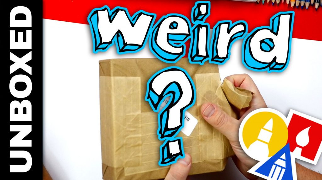 Weird Crayons Unboxing + Featured Artists