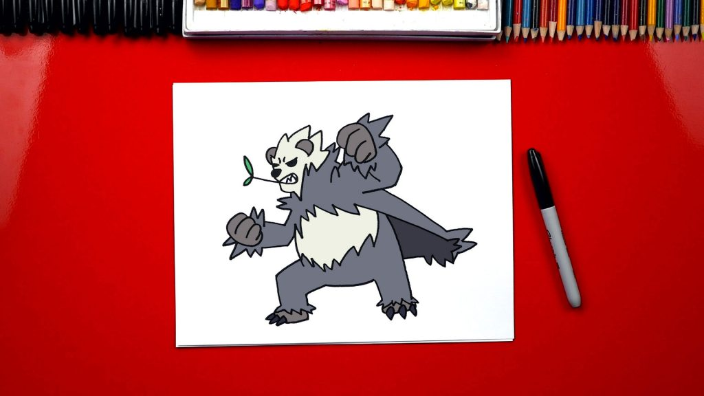 How To Draw Pokemon Pangoro