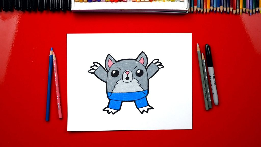 How To Draw The Big Bad Wolf – Member