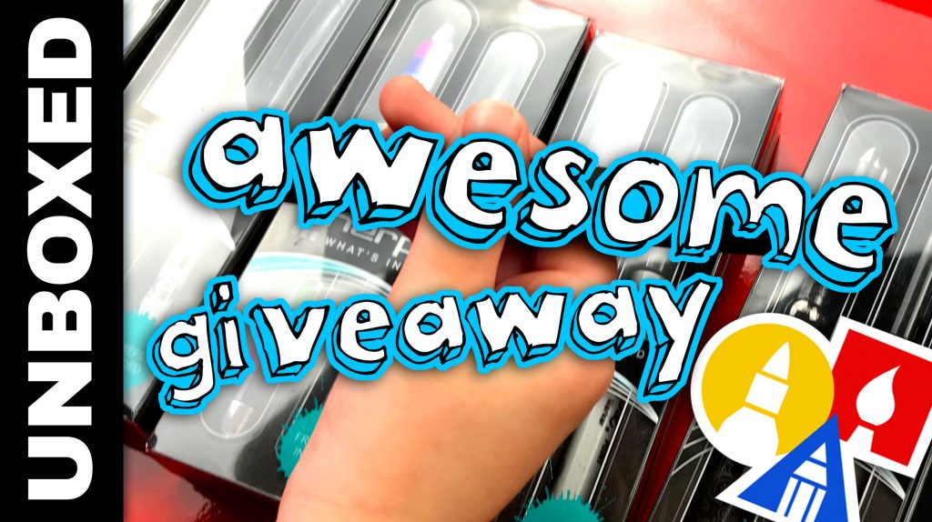 Unboxing Giveaway – Sherpa Pen Covers