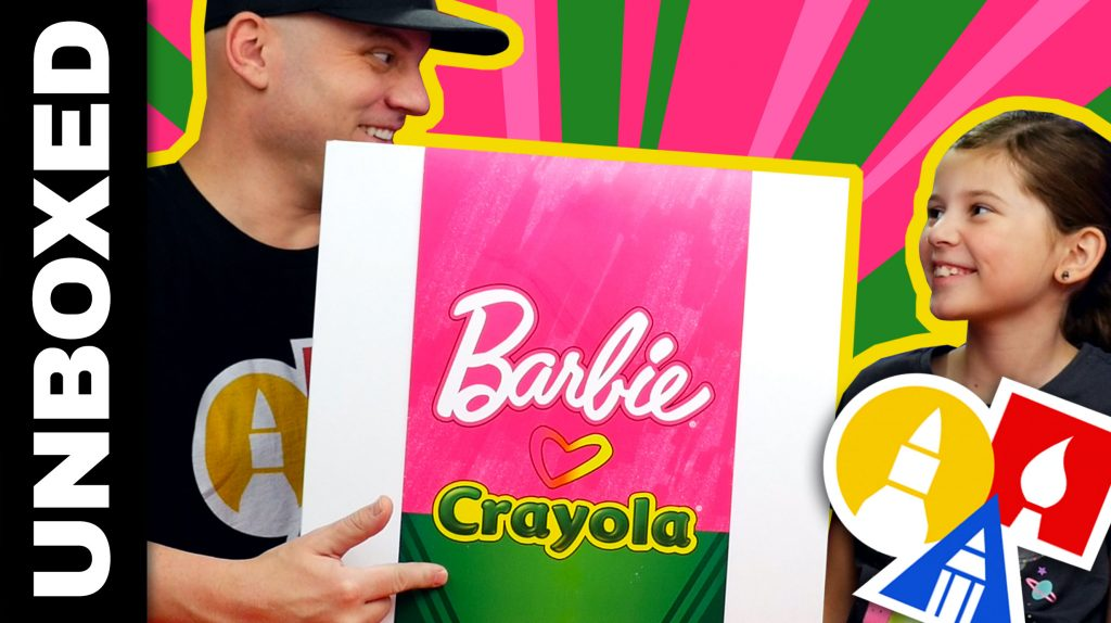 Unboxing – Barbie Loves Crayola Plus Giveaway