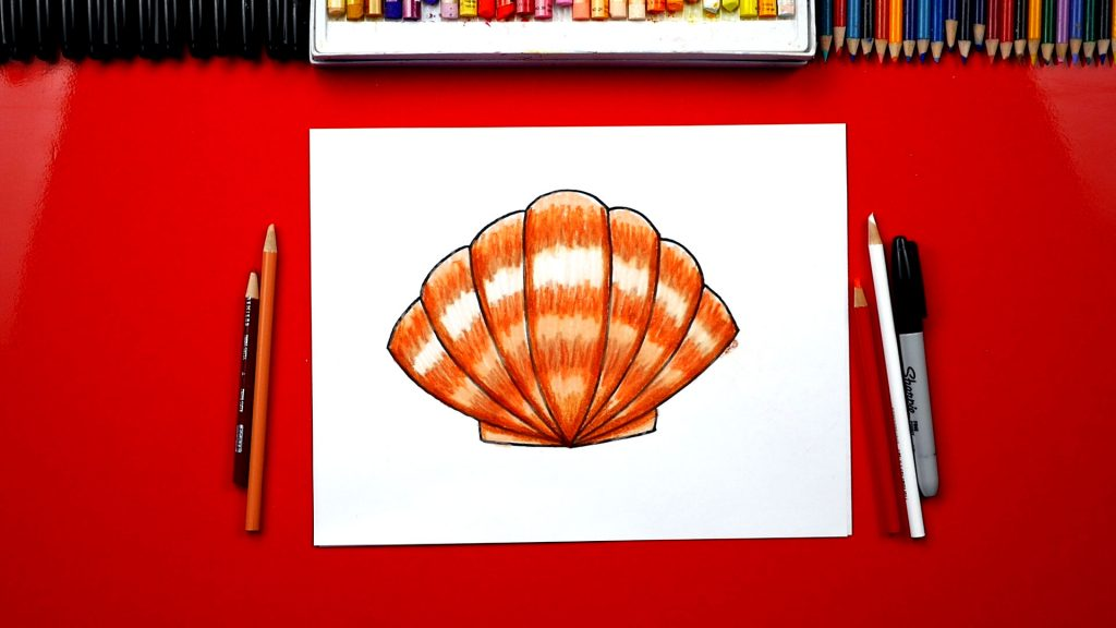 How To Draw A Seashell – MEMBER LESSON