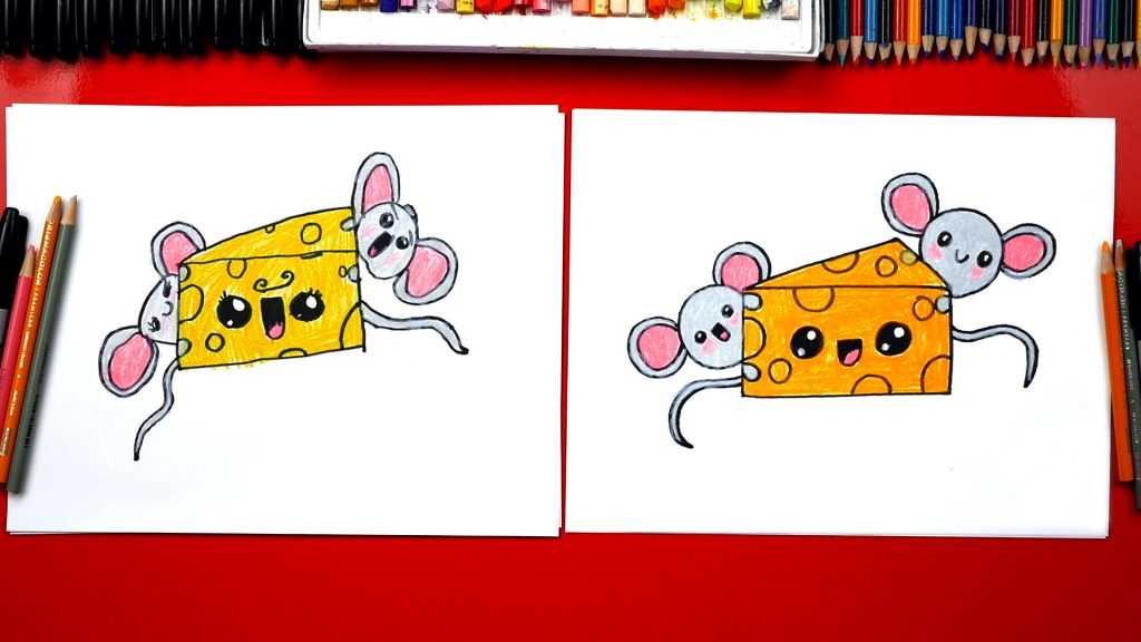 How To Draw Cheese – Happy Cheese Doodle Day!