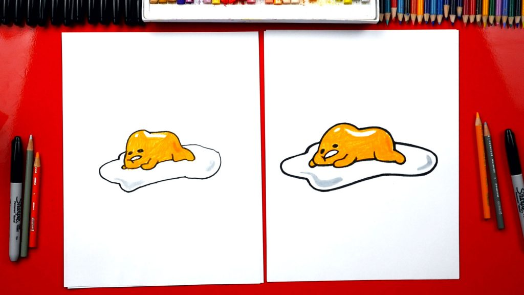 How To Draw Lazy Egg Gudetama