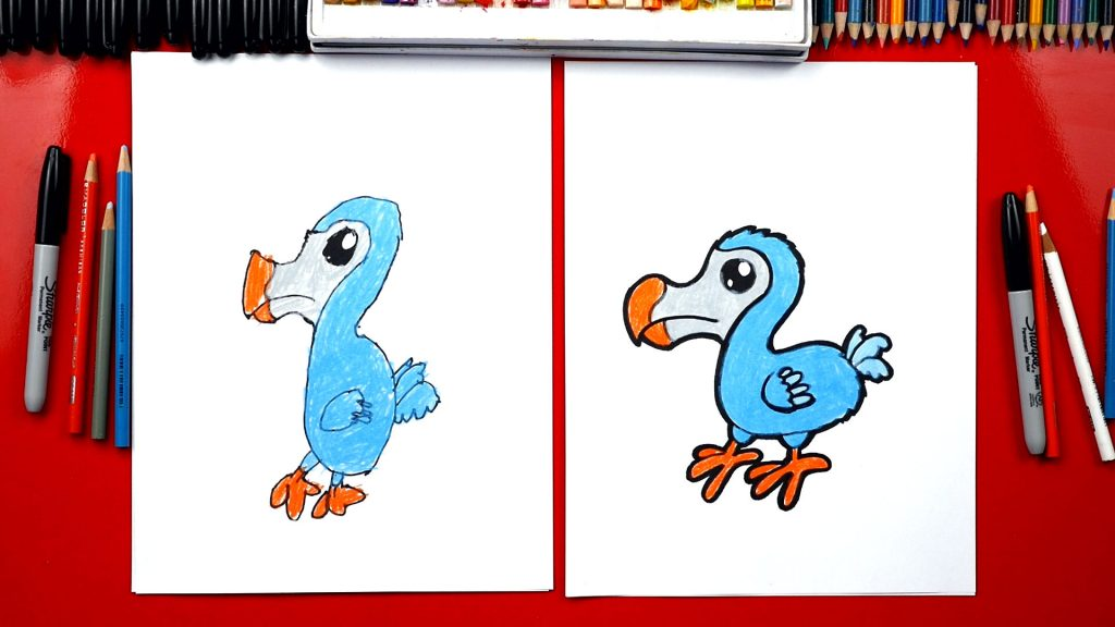 Image of: Walking How To Draw Dodo Bird Art For Kids Hub Cartoons Archives Art For Kids Hub