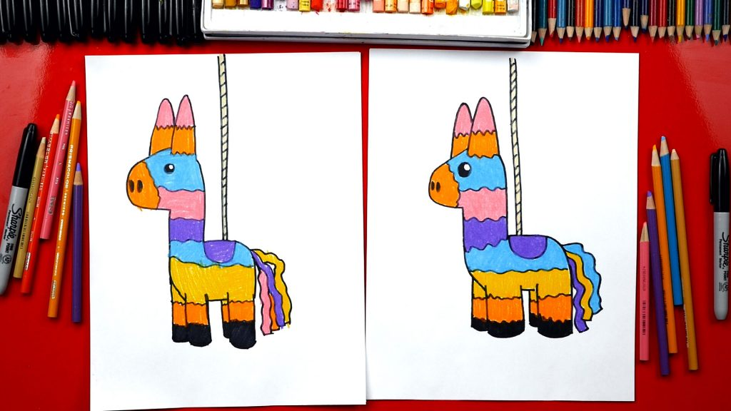 How To Draw A Piñata