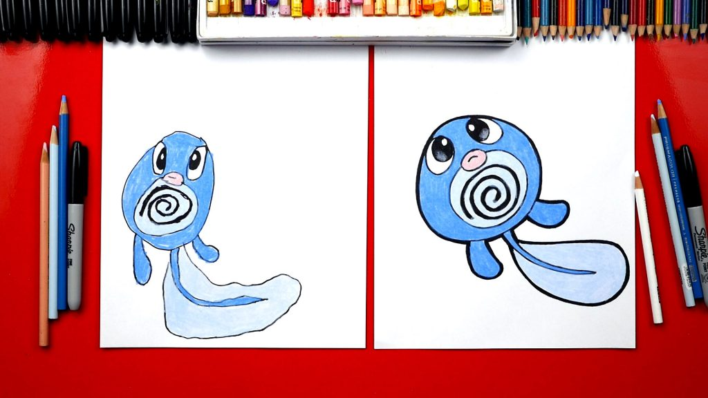 How To Draw Poliwag From Pokemon