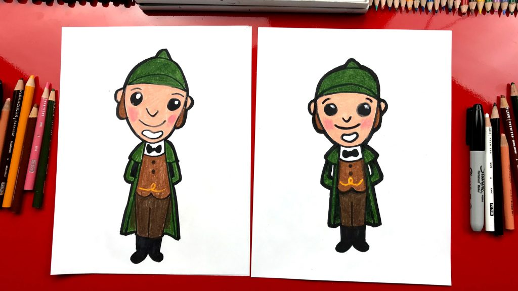 How To Draw Sherlock From Sherlock Gnomes – GIVEAWAY