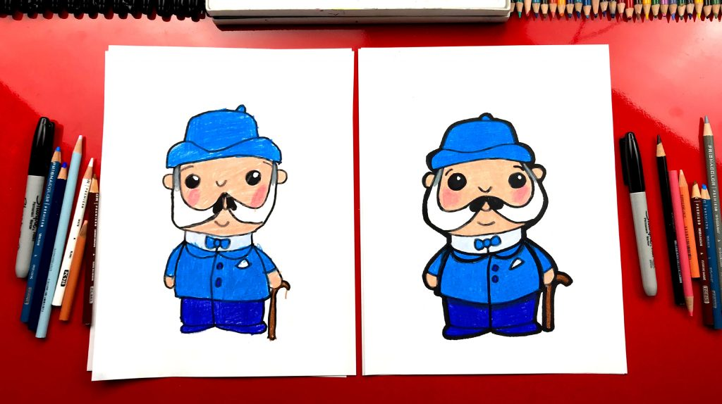 How To Draw Watson From Sherlock Gnomes – GIVEAWAY!