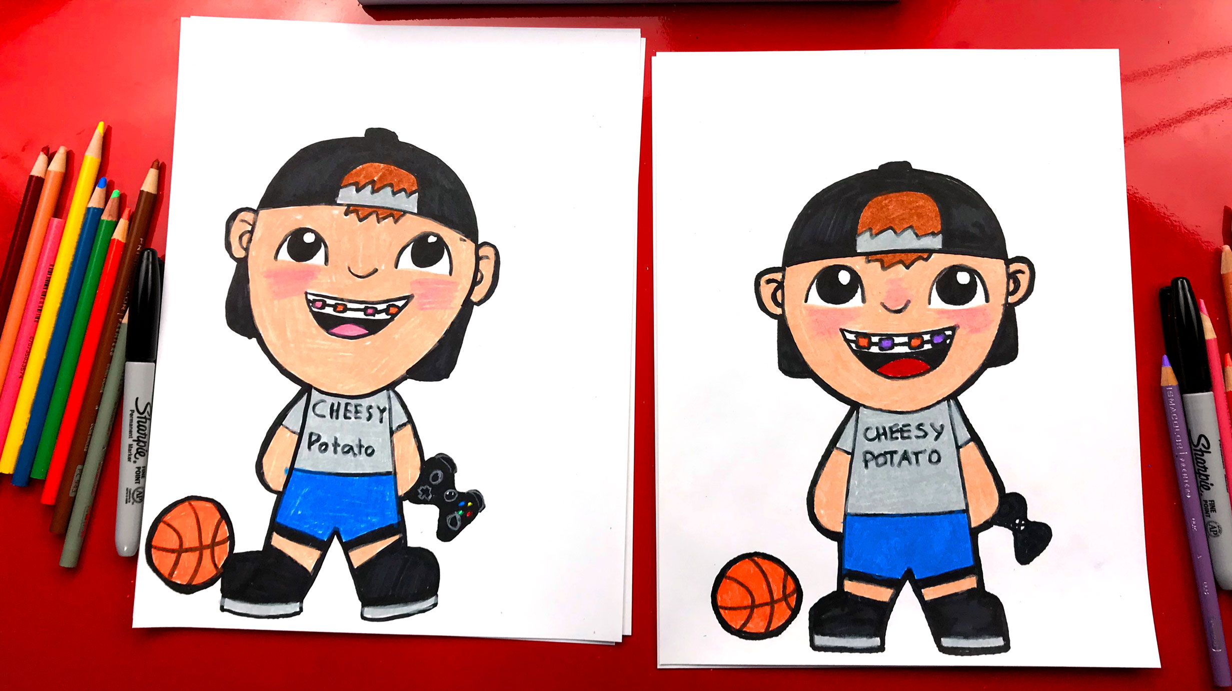 How To Draw Jack From Art For Kids Hub Art For Kids Hub