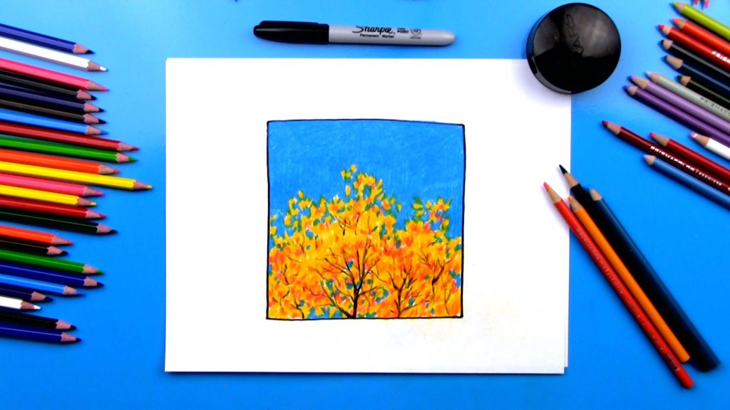 Simple Autumn Art Project
