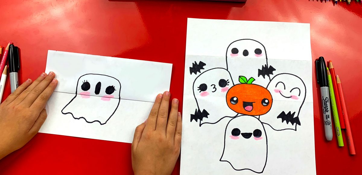 How To Draw A Ghost Stack (Folding Surprise)