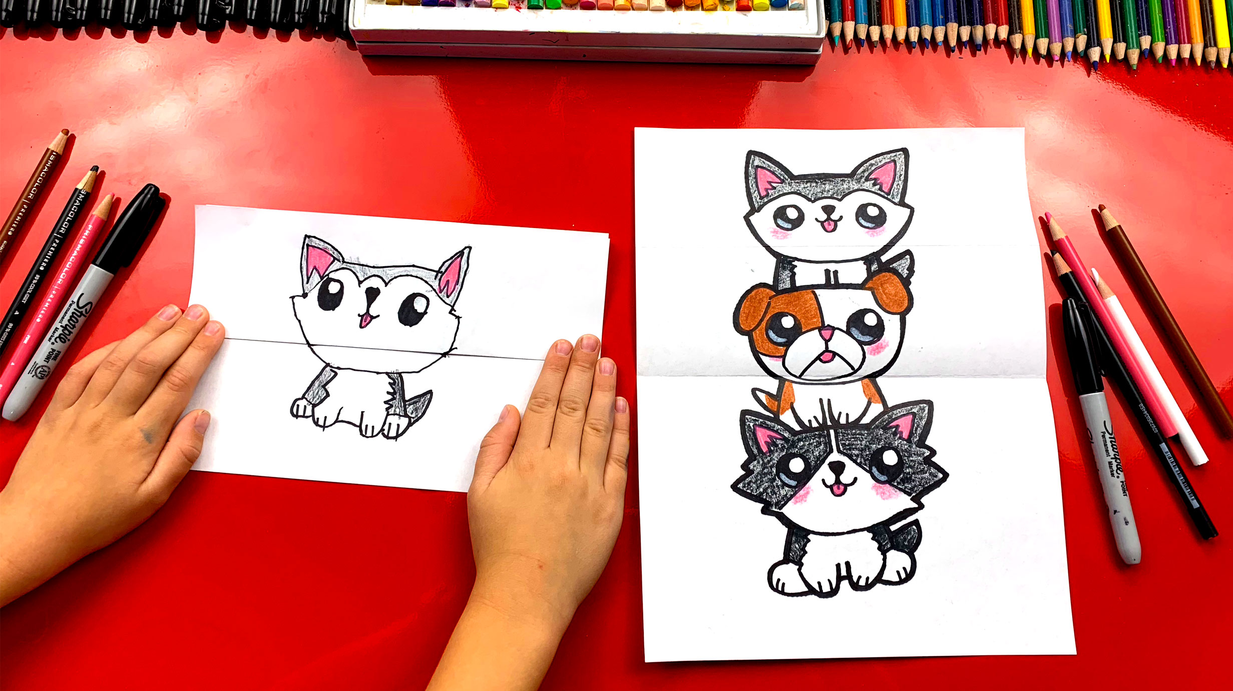 Draw So Cute Puppy Dog