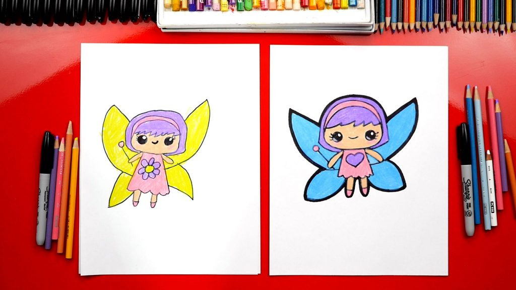 How To Draw A Cute Fairy