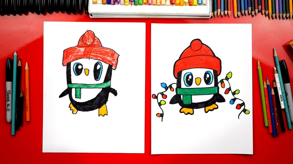 Christmas Pictures To Draw.Christmas Archives Art For Kids Hub