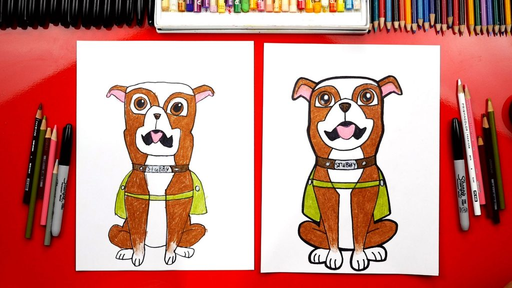 How To Draw Sgt. Stubby + Giveaway!