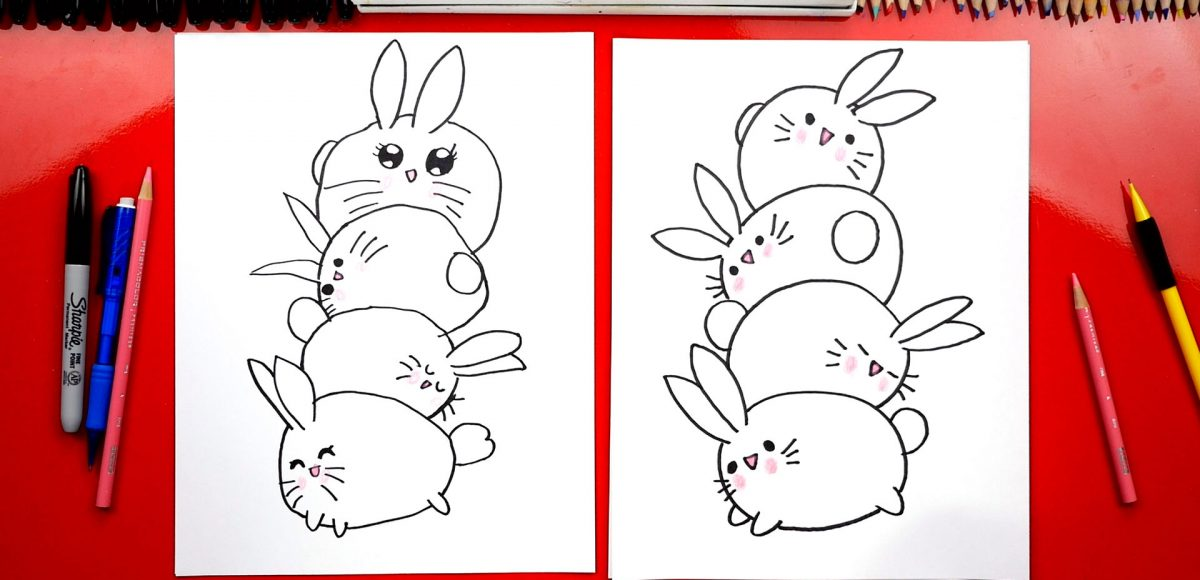How To Draw A Bunny Stack