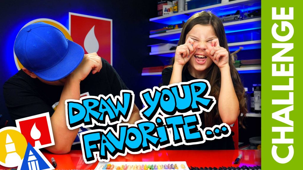 Challenge-Time: Draw Your All-Time Favorite…