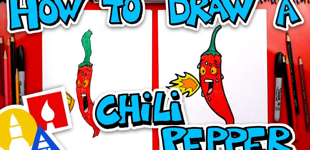 How To Draw A Hot Chili Pepper