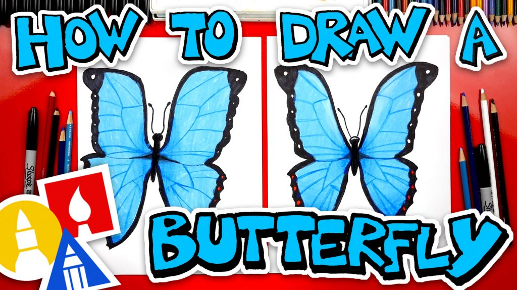 How To Draw A Butterfly Emoji