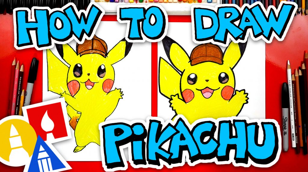 How To Draw Detective Pikachu