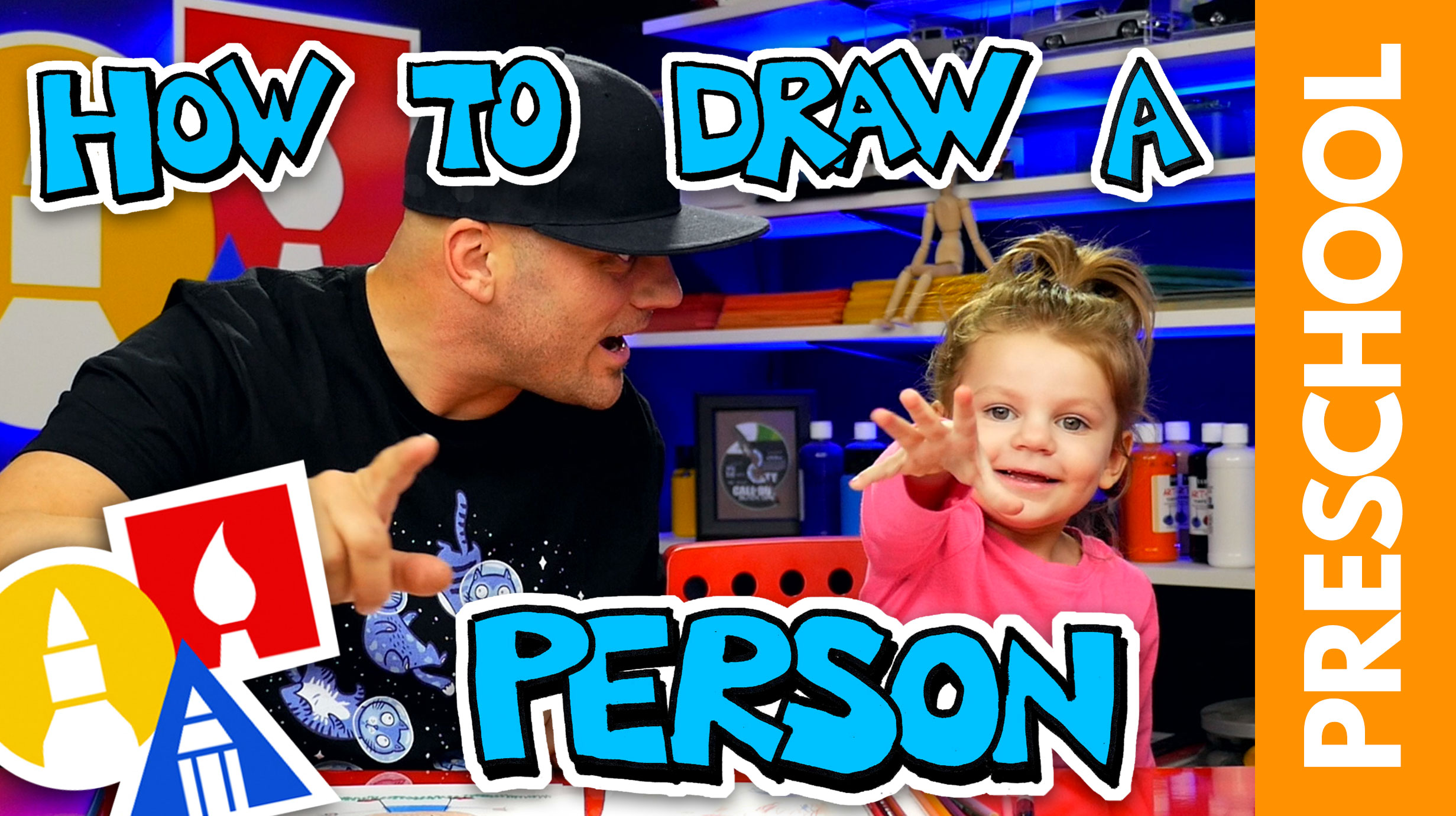 Drawing A Person With My 2-Year-Old (Preschool) - Art For ...