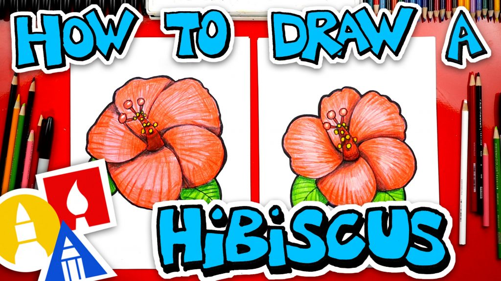 How To Draw A Hibiscus Flower Emoji