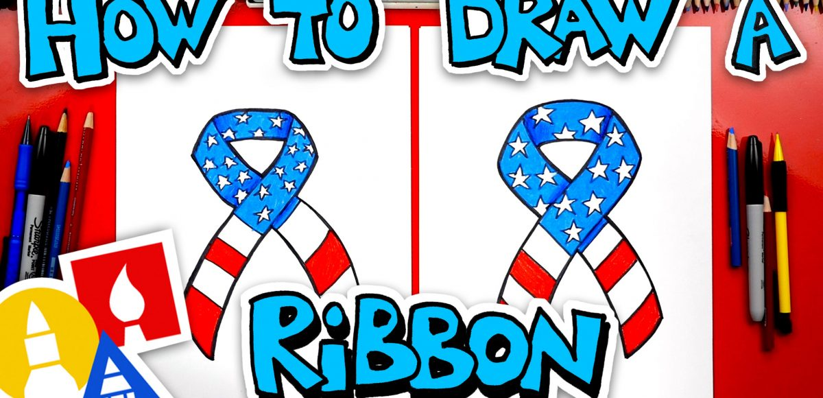 How To Draw An Armed Forces Ribbon