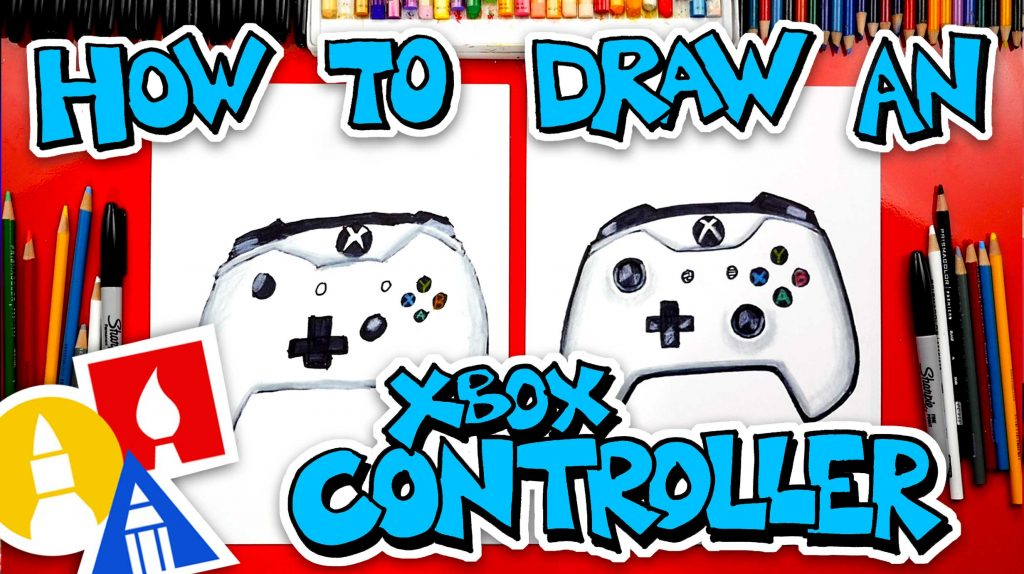 How To Draw An Xbox Controller