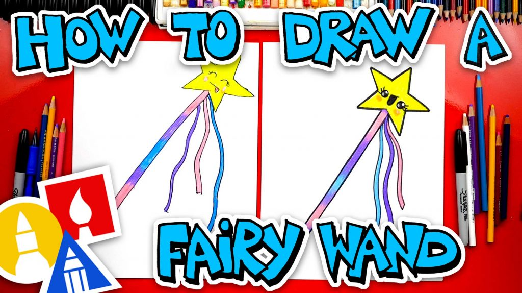 How To Draw A Fairy Wand