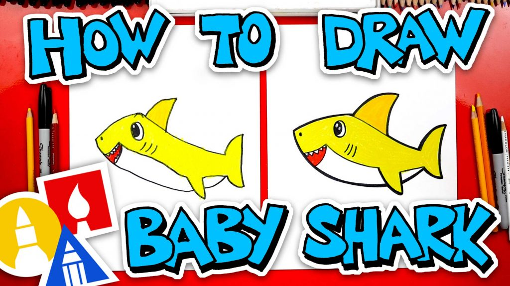 How To Draw Baby Shark