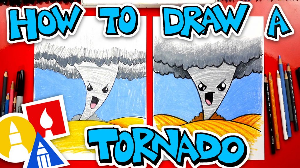 How To Draw A Tornado