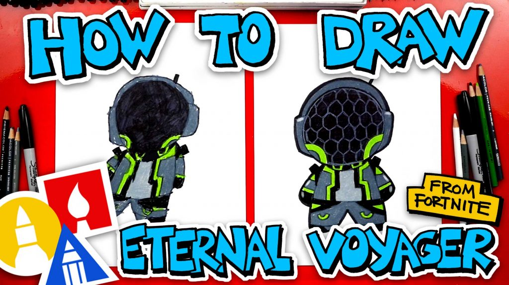How To Draw Eternal Voyager From Fortnite (Cartoon)