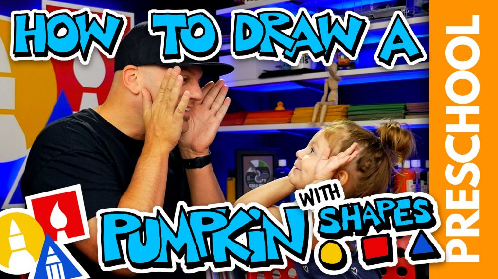 Drawing A Pumpkin With Shapes PRESCHOOL
