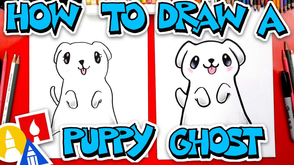 How To Draw A Puppy Ghost
