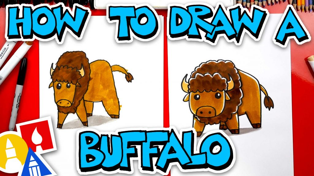 How To Draw A Buffalo (Bison)