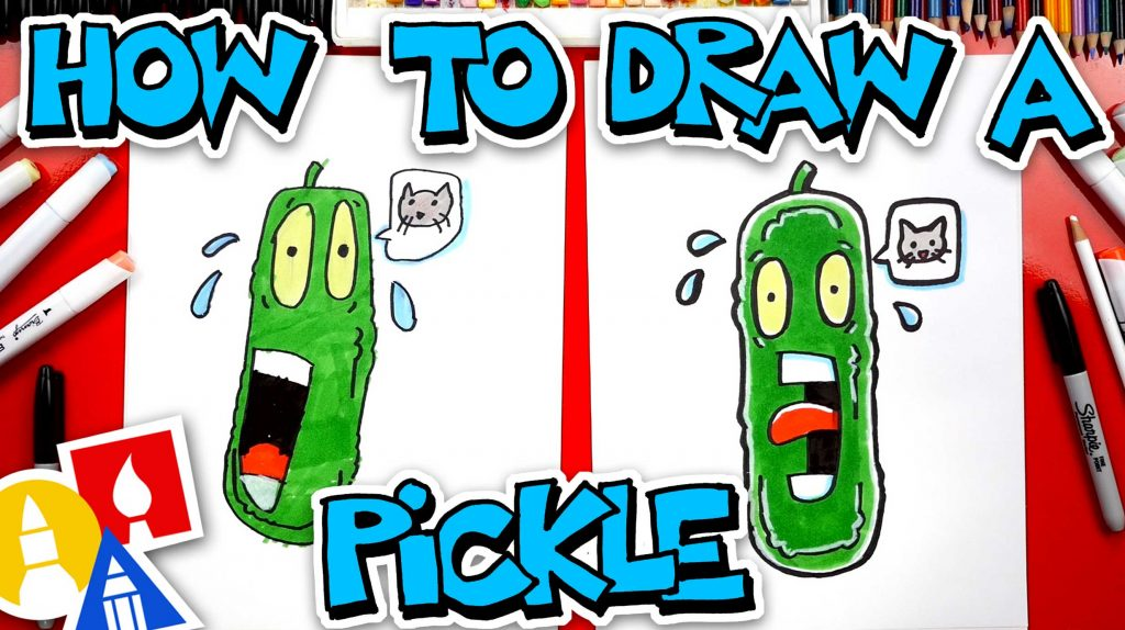 How To Draw A Funny Pickle