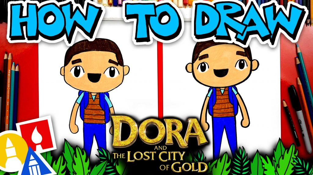 How To Draw Diego From Dora And The Lost City Of Gold