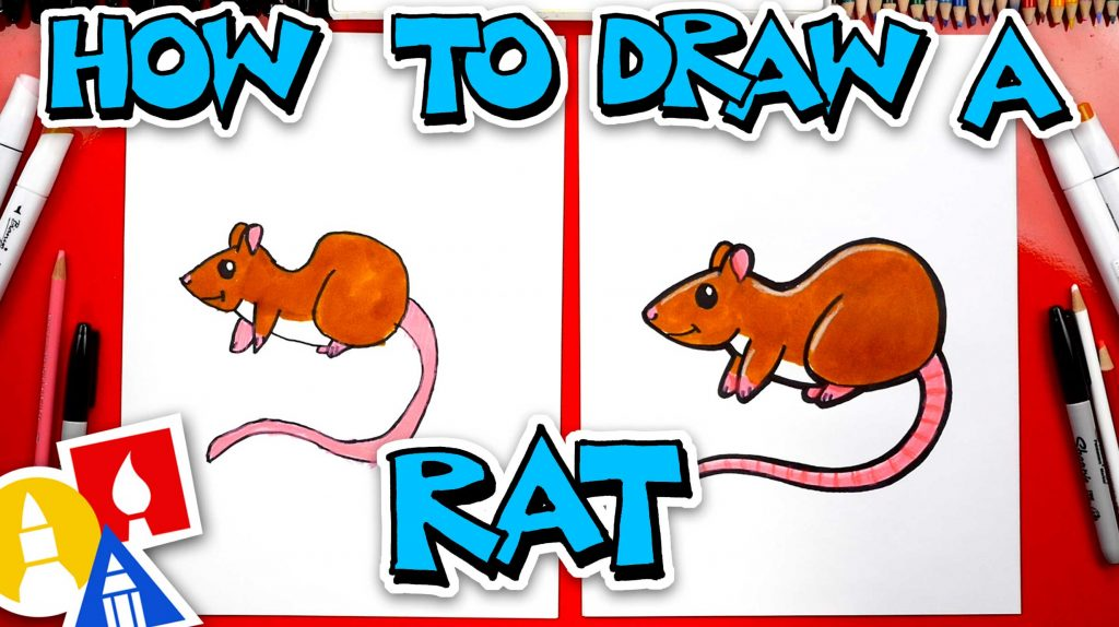 How To Draw A Rat – Year Of The Rat