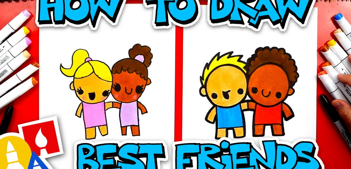How To Draw Best Friends