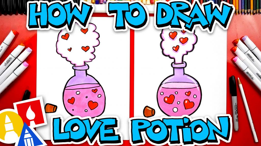 How To Draw Love Potion